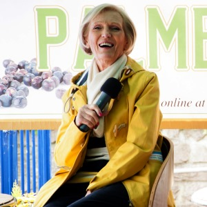 Mary Berry in conversation at Crabfest 2016